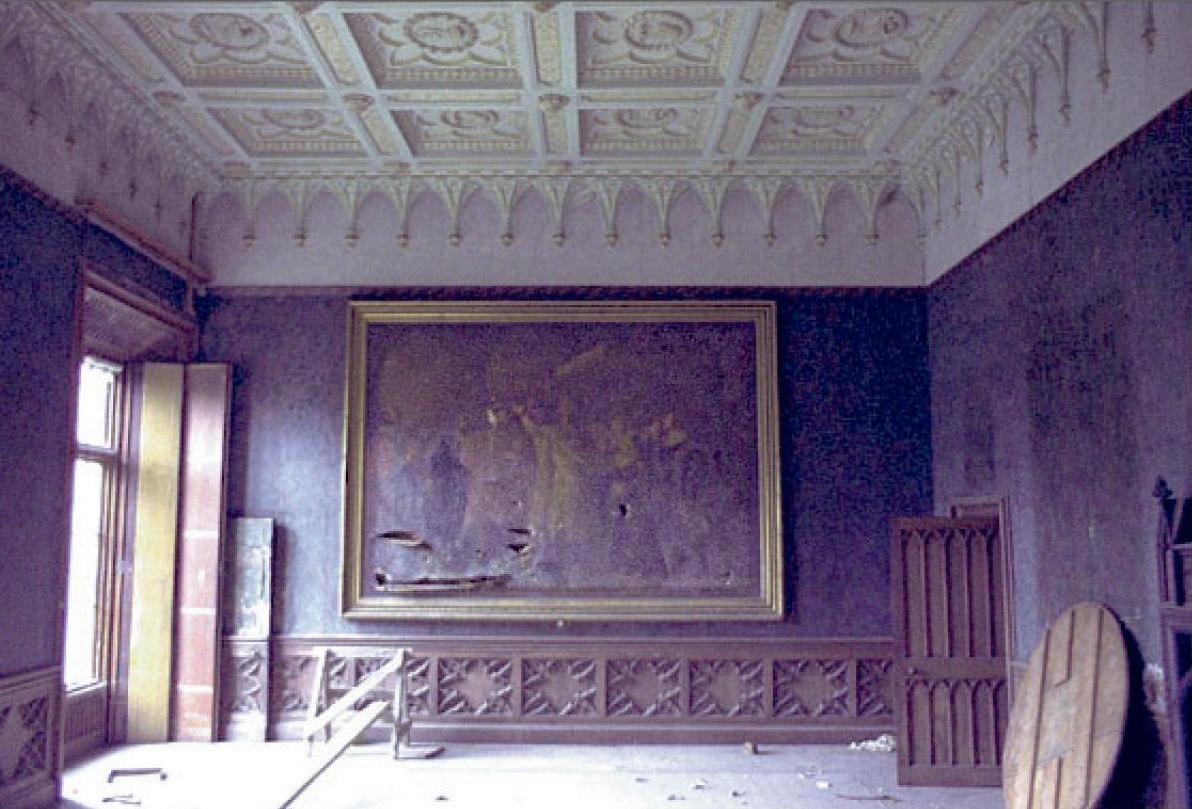 Dining Room 1970 with Painting exGordon2