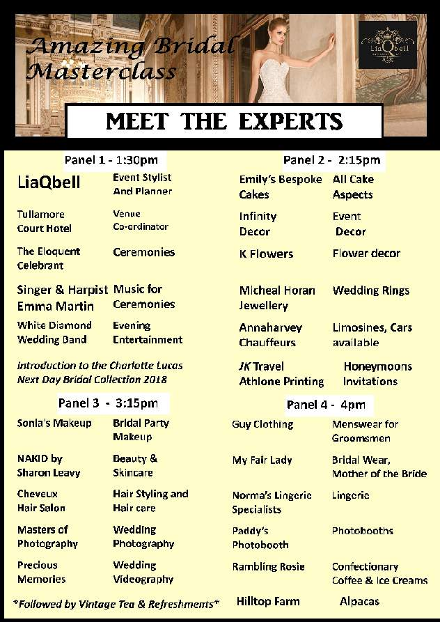 Meet the Experts LR